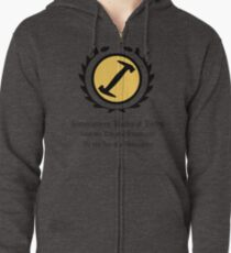 The Simpsons - Stonecutters - Rules of Entry Zipped Hoodie