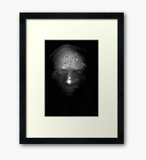 Photocopied Expanding Foam Portrait Series (2) Framed Print