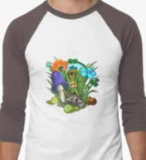 Legend of Zelda: Minish Cap Men's Baseball ¾ T-Shirt