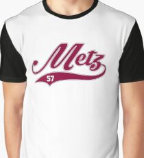 Metz style Baseball Graphic T-Shirt