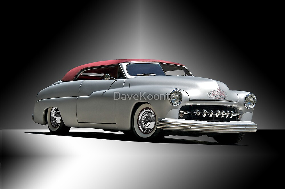 Quot 1950 Mercury With A Carson Top Quot By Davekoontz Redbubble