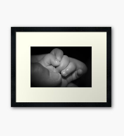 Our First Love Framed Print