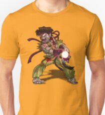 Zombie Ryu (Street Fighter) T-Shirt