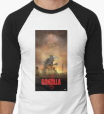 Gonzilla Men's Baseball ¾ T-Shirt
