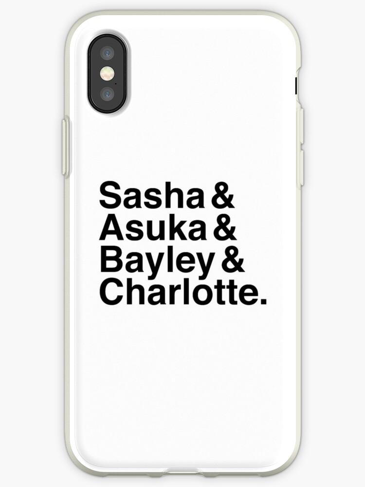 Sasha & Asuka & Bayley & Charlotte by PolydsignStudio