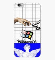 Vinilo o funda para iPhone WINDOWS 98 VAPORWAVE CASE