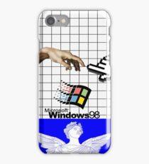 WINDOWS 98 VAPORWAVE CASE iPhone Case/Skin