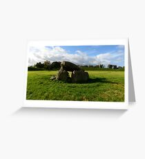 The Giants Ring, Northern Ireland Greeting Card