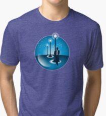 Bubble Noir Tri-blend T-Shirt