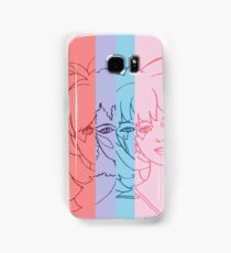 Jem and The Holograms - Group Striped - Tablet & Phone Cases Samsung Galaxy Case/Skin