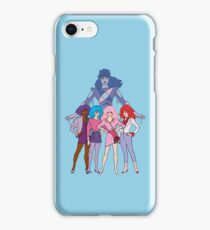 Jem and The Holograms - Group #2 Blue - Tablet & Phone Cases iPhone Case/Skin