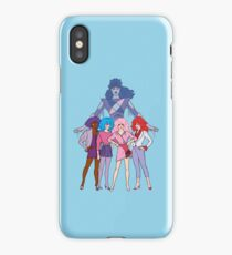 Jem and The Holograms - Group #2 Blue - Tablet & Phone Cases iPhone Case
