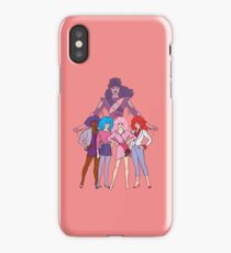 Jem and The Holograms - Group #2 Red - Tablet & Phone Cases iPhone Case