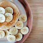 banana pancakes.. by Michelle McMahon
