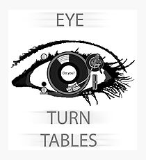Eye TurnTables Photographic Print