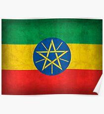 Ethiopia Flag Poster
