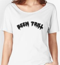 Been TRILL [Black] Women's Relaxed Fit T-Shirt