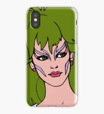 Jem and The Holograms - Pizzazz - Face - Tablet & Phone Cases iPhone Case