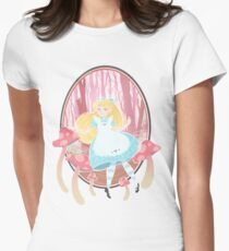 Alice's Wonders Fitted T-Shirt