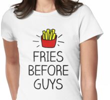 fries before guys - in living color Womens Fitted T-Shirt