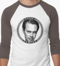 Steve Buscemi Fan Club Men's Baseball ¾ T-Shirt