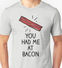 You had me at bacon - with scientific illustration T-Shirt