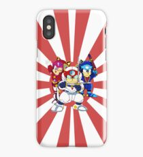 Samurai Pizza Cats - Table & Phone Cass iPhone Case