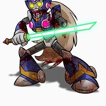 Zombie Zero (Megaman) by AvenueRec