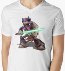Zombie Zero (Megaman) Mens V-Neck T-Shirt