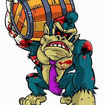 Zombie Donkey Kong by AvenueRec