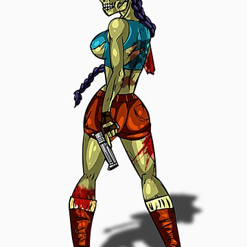 Zombie Lara Croft (Tomb Raider) by AvenueRec