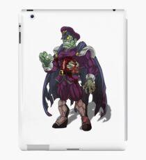 Zombie M Bison (Street Fighter) iPad Case/Skin