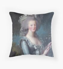 Marie Antoinette, Queen of France Throw Pillow