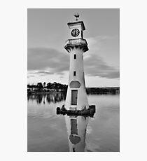 Captain Scott Memorial, Roath Park in Cardiff Photographic Print