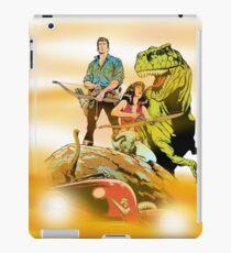 Cadillacs and Dinosaurs - Color iPad Case/Skin