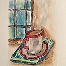 Morning Coffee by Sharon A. Henson