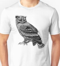 Ornate Owl T-Shirt