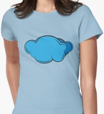 Clouds Women's Fitted T-Shirt