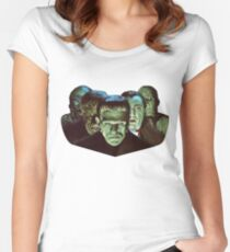 Gang of Monsters  Women's Fitted Scoop T-Shirt