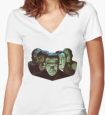 Gang of Monsters  Women's Fitted V-Neck T-Shirt