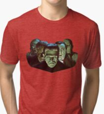 Gang of Monsters  Tri-blend T-Shirt