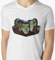 Gang of Monsters  Men's V-Neck T-Shirt