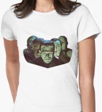 Gang of Monsters  Women's Fitted T-Shirt