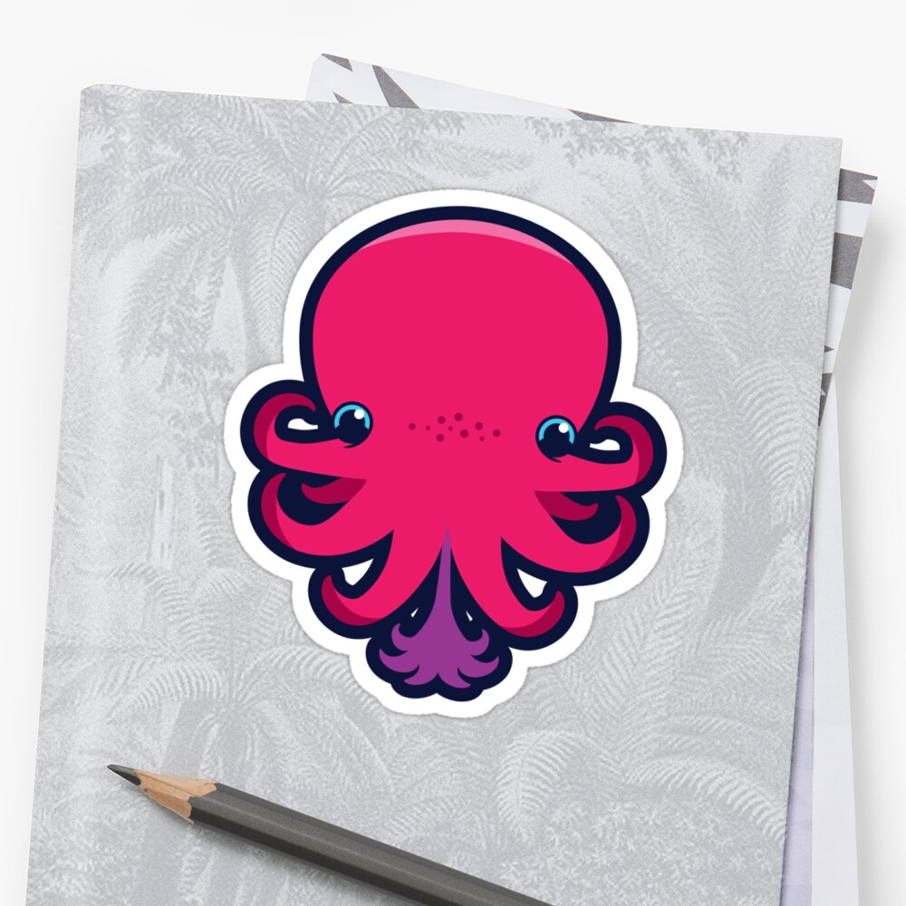 Terrence the octopie - Happy Ink! by Noth