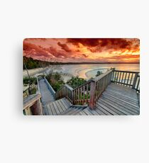The Deck Canvas Print