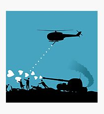 Love army Photographic Print