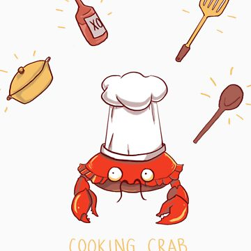 Cooking Crab by schewy