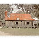 Old pioneers home in Inverell , Australia by Elaine Game