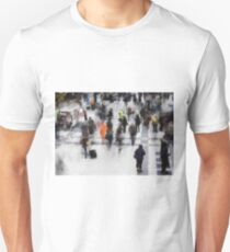 Commuter Art Abstract T-Shirt