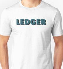2. Ledger Fanshirt Unisex T-Shirt